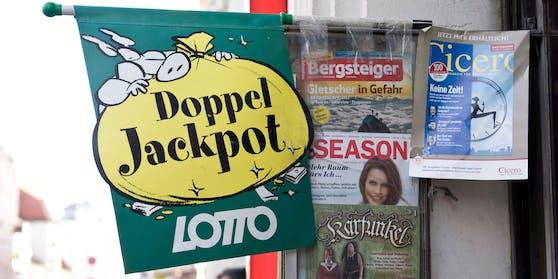 Es wartet ein Doppeljackpot im Lotto auf glückliche Gewinner.