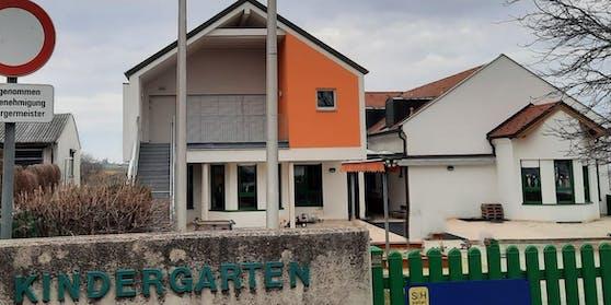 In diesem Kindergarten in Großhöflein (Eisenstadt-Umgebung) ereignete sich der Unfall.