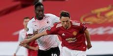 Milan rettet spätes 1:1-Remis gegen Manchester United