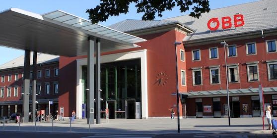 Am Klagenfurter Hauptbahnhof erfolgte die Festnahme.