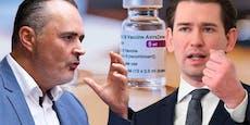 Doskozil: Wüster Streit mit Kurz wegen Astra-Impfungen