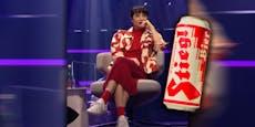 Fiva im Bier-Kostüm? Netz lacht über Starmania-Outfits