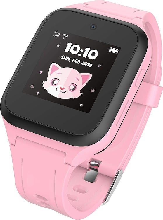 Smartwatch für Kids mit GPS-Standort, SOS-Knopf und Telefonie-Funktion.
