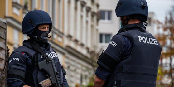 Polizeieinsatz in Linz (Archivfoto)