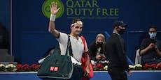 Nach Comeback: Federer sagt für nächstes Turnier ab