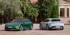 Premiere für den neuen Porsche Taycan Cross Turismo