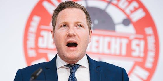 FPÖ-Generalsekretär Michael Schnedlitz