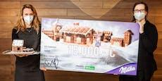 Milka unterstützt mit 15.000 Euro das SOS-Kinderdorf