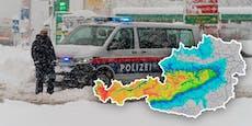 """""""Massiver Wintereinbruch"""" bringt bis zu 80 cm Neuschnee"""