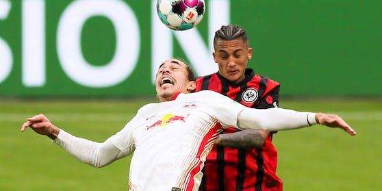 Leipzig und Frankfurt trennten sich 1:1.