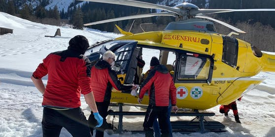 Schwererverletzter Skitourengeher in Vals -Fotocredit: ZOOM.TIROL