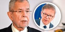 """Van der Bellen: """"Mache mir Sorgen um Rudi Anschober"""""""