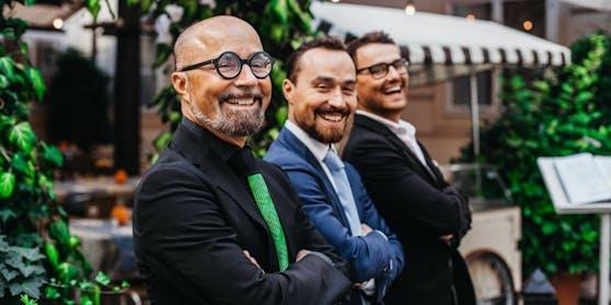 Familiensache: Luigi senior, Antonio und Luigi jun. Barbaro