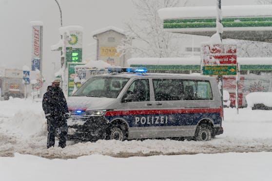 Archivbild: Ungewöhnlich große Neuschneemengen in Vorarlberg am 15. Jänner 2021