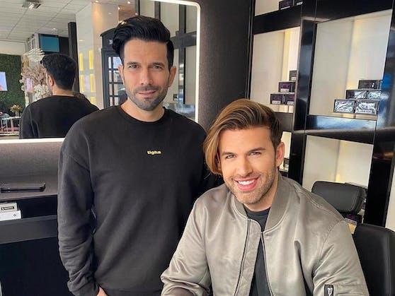 Marc Terenzi (42) und Jay Khan (38) haben bekanntgegeben, dass sie eine neue Boyband gründen. TEAM 5ÜNF heißt die Band, die englische Songs auf deutsch covern wird.