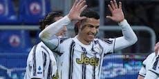 Ronaldo antwortet auf Gerüchte mit Hattrick