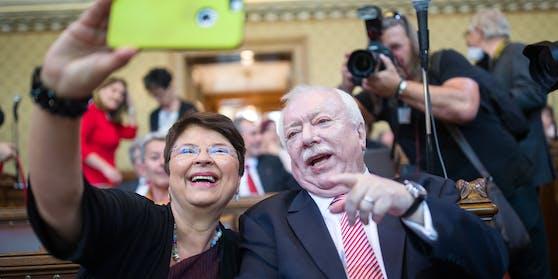 Renate Brauner galt lange Zeit als engste Vertraute von Ex-Bürgermeister Michael Häupl.