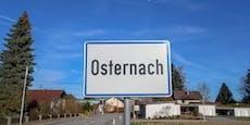 Kurz vor Ostern: Taferldieb sucht Osternach heim