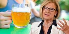 Mikl-Leitner lieferte bei Kurz Bier-Ansage für daheim