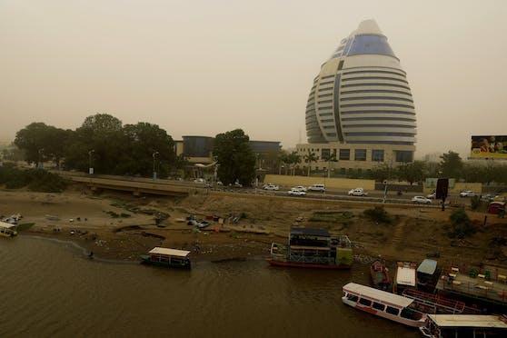 Khartum, die Hauptstadt der Republik Sudan
