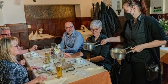 Die Gastronomie öffnete am Montag in Vorarlberg wieder.