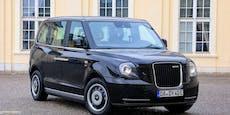 Erste Ausfahrt mit dem neuen London Taxi in Österreich