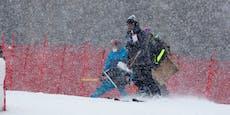 Schnee Spielverderber bei Weltcup-Finale in Lenzerheide