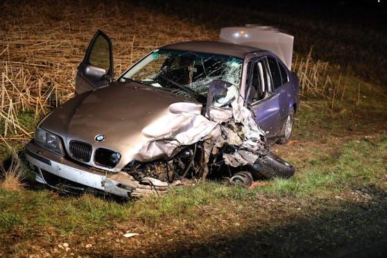 Der schwere Unfall forderte fünf Verletzte.