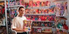 Dominik (24) wohnt mit 4.000 Barbies zusammen