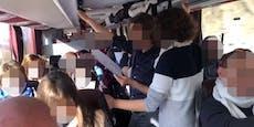 Corona-Explosion wegen Busfahrt von Demo-Touristen?