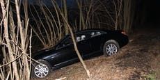Mann (45) crasht Luxus-Mercedes bei Flucht vor Polizei