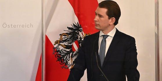 Bundeskanzler Sebastian Kurz fliegt am Donnerstag nach Berlin.