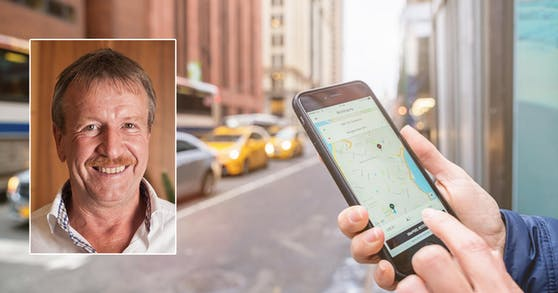 Dieser Unternehmer in Wien bereute seine Zusammenarbeit mit Uber.