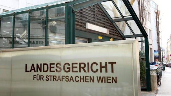 Prozess heute am Landesgericht Wien.