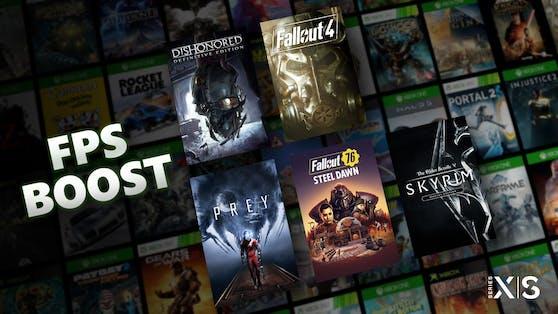 Fünf Bethesda-Titel erhalten ab sofort FPS Boost auf Xbox Series X|S.