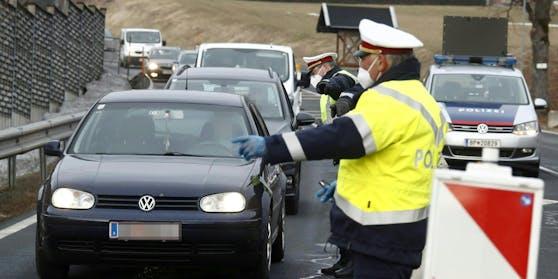 Die Polizei wird stichprobenartige Kontrollen durchführen.