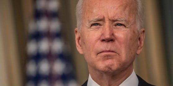 """US-Präsident Joe Biden verurteilt die versuchte Einmischung Russlands in die US-Präsidentschaftswahl und geht in einem Interview sogar noch weiter: Wladimir Putin sei ein """"Mörder""""."""