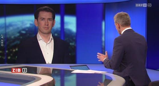 """Bundeskanzler Sebastian Kurz in der """"Zeit im Bild 2"""""""