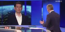 """Kurz korrigiert Thür im ORF: """"Das ist nicht richtig"""""""