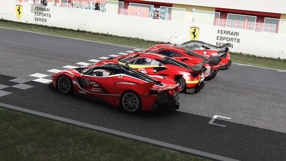 Die Ferrari Esports Series läuft in der Saison 2021 auf Hochtouren; Registrierung ab sofort möglich.