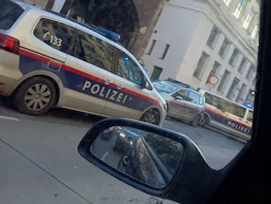 Großeinsatz der Polizei