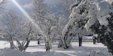 So schön ist der neue Wintereinbruch in der Steiermark