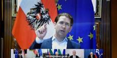 """Kurz: """"Bis Sommer Impfdose für jeden in Österreich"""""""
