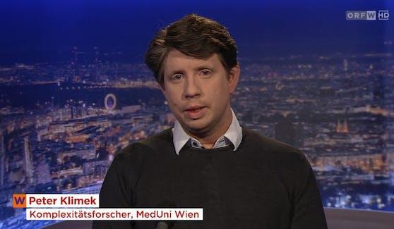 Komplexitätsforscher Peter Klimek