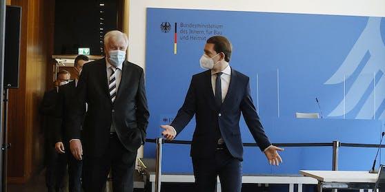 Bundeskanzler Sebastian Kurz zu Besuch in Berlin