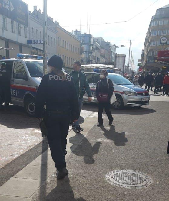 Alarmfahndung nach Überfall in Wien-Favoriten