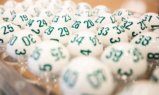 Lotto-Kugeln in der Wiener Zentrale. (Archivbild)