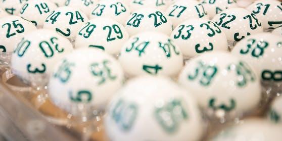 Lotto-Kugeln in der Wiener Zentrale.