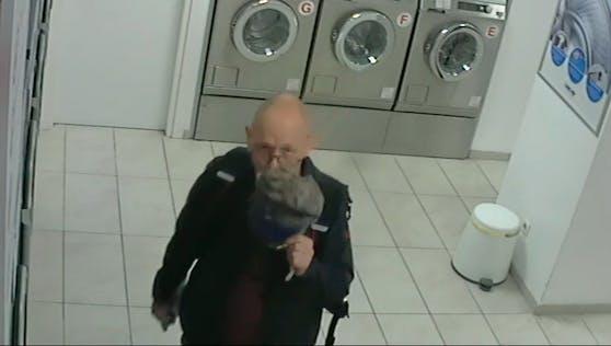 Der Mann steht im Verdacht in einem Waschsalon zwei Mal die Kasse eines Geldwechselautomatens aufgebrochen zu haben.
