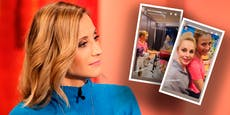 Dancing-Star Kirchgasser zeigt Silvia ihre Koch-Tricks